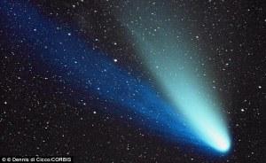 Comet ISON, courtesy NASA image archives