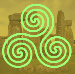 Celtic triskele: return of triune energy, trinity DNA superceding duality DNA