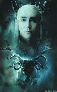 The White Stag, projection of Thranduil's essence.
