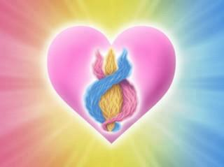 Threefold Heart Flame: Trinity energy of the Mother, Father and Child, in the Heart centre.