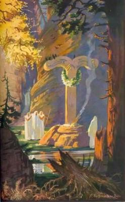 Irminsul pillar, image courtesy www.vigrid.net