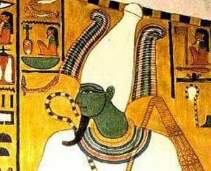 Osiris, tomb of Nefertari, 1295-1253BC